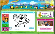 Click for Cbeebies Games